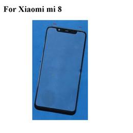 Flex cable For xiaomi online shopping - 2PCS For Xiaomi mi mi8 Front Outer Glass Lens Repair Touch Screen Outer Glass without Flex cable Replacement Parts Xiaomi8