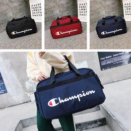 $enCountryForm.capitalKeyWord NZ - Champion Letters Handbags Brand Shoulder Bags Messenger Backpack Knapsack Men Women Outdoor Travel Sports High Capacity Storage Bag C51302