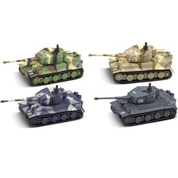 wood cars for kid Australia - Kids Parts RC Cars Remote Control Gift Tiger Tank German Toy Mini Simulation For Child