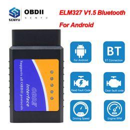 ELM 327 V1.5 OBD2 Bluetooth-scanner voor Android Elm327 V1.5 ODB2 Codlezer OBD 2 OBD2 Auto Diagnostic Scanner Tool ELM327 1.5