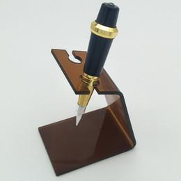 1 Stück Hohe Qualität Neueste Design Make-Up Stift Maschinengestelle Stehen Acryl Augenbrauen Tattoo Zubehör permanent make-up stift stehen im Angebot