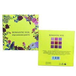 $enCountryForm.capitalKeyWord UK - Newest Romantic fox 9 Colors Highlighter Makeup Palettes Moisturizer Natural Face concealer makeup Kits High Quality