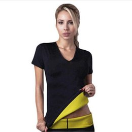 $enCountryForm.capitalKeyWord UK - Women's Neoprene Bodyshaper Slimming Waist Slim Fitness Yoga T-shirt 2017 New Sportwear Women Clothing