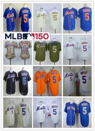 b07cd60de54e6 2019 Hombres Mujeres Niños Pequeños New York Mets Camisetas de béisbol David  Wright Blanco Azul Negro Gris Flex Base Cool Jugador de Jersey Con 150o  parche