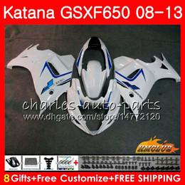 $enCountryForm.capitalKeyWord Australia - Kit For SUZUKI KATANA GSXF 650 white stock GSX650F 08 09 10 11 12 13 14 18HC.14 GSXF-650 GSXF650 2008 2009 2010 2011 2012 2013 2014 Fairing