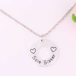 Lobster Claw Necklace Australia - H26 New Arrival Lobster Claw Wheat Link snake chain Necklace with heart Sole Sister chains necklace