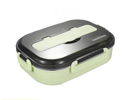 $enCountryForm.capitalKeyWord Australia - 304 stainless steel lunch box 4 compartments sealed leakproof bento box
