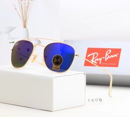 54mm glasses Australia - 2019 Brand Sunglasses Vintage Pilot Sun Glasses UV400 Men Women Bens 50mm 54mm Glass bain Lenses With Case