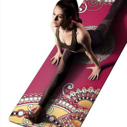 $enCountryForm.capitalKeyWord NZ - Yoga Mat 1.5mm Natural Rubber High Quality Suede Anti-Skid Foldable Outdoor Pilates Training Mats Body Fitness Exercise Pad
