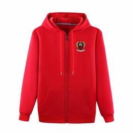 Wholesale nice tracksuits resale online – Men s OGC Nice Full Zip Travel Jacket OGC Nice Cotton soccer Training jacket football tracksuit OGC Nice Hooded jackets