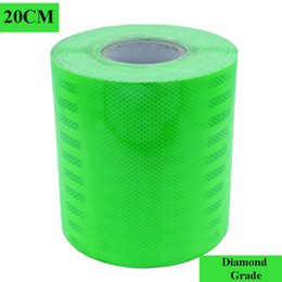 $enCountryForm.capitalKeyWord NZ - 20CM*45M Green Diamond Grade Prismatic Reflective Sheeting Conspicuity tape Truck Safety Markings Warning Strips Self Adhesive