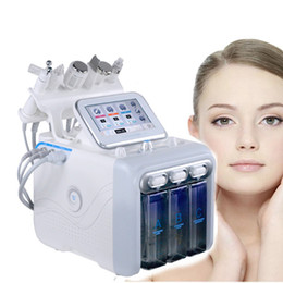Wholesale 6 IN 1 Hydra Facial Machine RF skin rejuvenaiton Microdermabrasion Hydro Dermabrasion Bio-lifting wrinkle removal hydrafacial Spa Machine