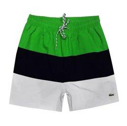 $enCountryForm.capitalKeyWord UK - 2019 Summer Designer Men Shorts with Letters Flat Sport Brand Beach Shorts Elastic Waist Fashion Luxury Short Pants for Mens Clothing