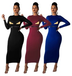 very sexy dresses Australia - women winter skirt one piece dress long sleeve dress Maxi-dresses high quality bodycon dress sexy night wear very hot women clothing klw2601