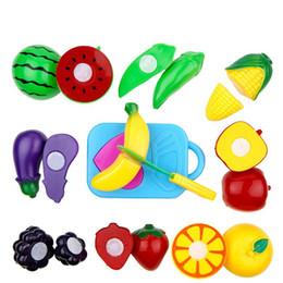 $enCountryForm.capitalKeyWord Australia - [TOP] 11pcs set Cut fruit game fruit & greenstuff Banana apple eggplant watermelon sets qieqie kitchen cook game play toy gift