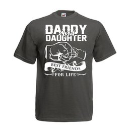 Daddy Daughter Best Friends For Life T Shirt New Dad 30th 40th Birthday Gift Funny Free Shipping Unisex Casual