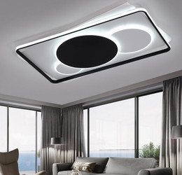 $enCountryForm.capitalKeyWord Australia - Modern LED Ceiling Lights Lamp for Living room Bedrom lustre de plafond moderne Dimming with remote Modern LED Ceiling Lamp MYY