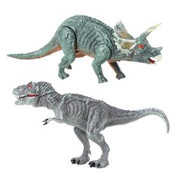 action figures packs Canada - Toys For Children's Attack Pack Velociraptor Blue Figure Dimorphodon Gallimimus Dragon PVC Action Figure Model Hand