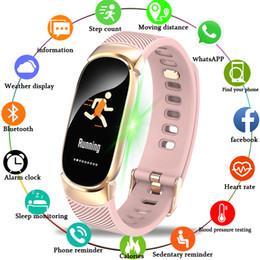 Rectangle Sport Watch For Men Australia - Bangwei Women Smart Watch Led Waterproof Smart Watch Men Heart Rate Blood Pressure Sport Watch Pedometer Clock For Android Ios Y19052001