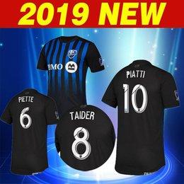 2019 2020 Montreal Impact blue thailand quality soccer Jersey 19 20 Montreal  Impact AWAY PIATTI DROGBA EDWARDS football shirt Custom sales be8ac2ee7