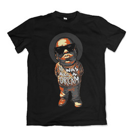 Biggie Shirts UK - NOTORIOUS B.I.G T SHIRT BIGGIE SMALLS RAP MUSIC Print Short Sleeve Men Top Novelty T Shirts Men'S Brand Clothing