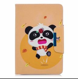 Apple Ipad2 Tablet UK - Case For Apple ipad 2 3 4 Fashion Panda Owl Pattern Smart Cover For iPad4 iPad 3 iPad2 Funda Tablet PU Leather Stand Shell+pen