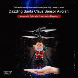 Wireless remote control 12 online shopping - 1PC Flying Inductive Mini RC Drone Christmas Santa Claus Induction Aircraft RC Helicopter for Kids Christmas Gifts