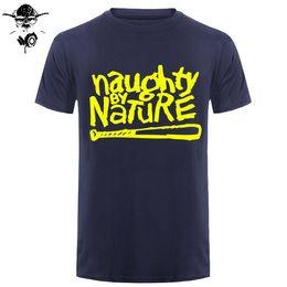403a0f68 2019 mens designer t shirts Naughty By Nature Old School Hip Hop Rap  Skateboardinger Music Band 90s boy girl T-shirt Cotton Top Tees