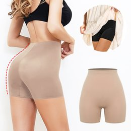 Wholesale under pants resale online - Anti Chafing Safety Pants Under Skirt Invisible Shorts Ladies Seamless Underwear Ultra Thin Comfortable Smooth Control Panties
