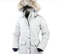 Groihandel Markendesign Neue Kollektion Damen Mantel mit einem Resistant Windsicher Kragen Frauen Parka Sehr stilvolle Frauen s Winterjacke