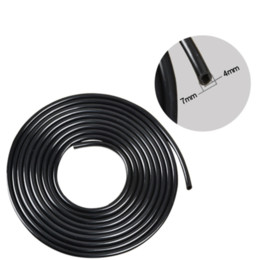 plant pipe NZ - 100 200m Watering Hose 4 7mm PVC Micro Drip Irrigation Tube Plants Flower Sprinkler Pipe Garden Hose Greenhouse Irrigating Sys Y200106