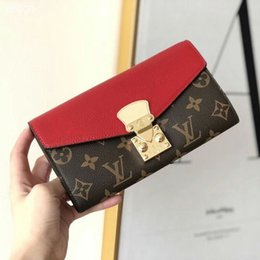 simple clutches for women NZ - New Women Wallet Long Ladies Simple Wallets Fashion Hand Clutch Bags for Women Calfskin Leather Wallet Card Holder Bags For Woman Gifts