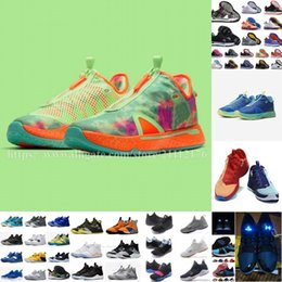 Wholesale g stars resale online - 2020 Paul George IV III sneaker pg nasa black white bhm pg3 pg4 all star gs basketball shoes mens US size
