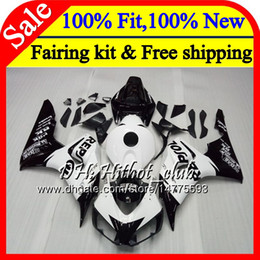 Honda Cbr Fairing Repsol Blue White Australia - OEM Injection For HONDA CBR1000 RR Repsol black CBR 1000RR 06 07 52HT19 CBR 1000 RR 2006 2007 CBR1000RR 06 07 100% Fit Fairing Bodywork