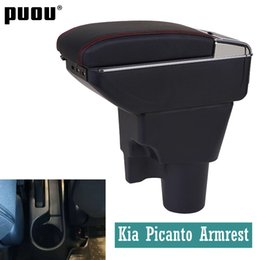 $enCountryForm.capitalKeyWord Australia - Armrest for Kia Picanto central Store content Storage box with cup holder ashtray Russian version Automotive