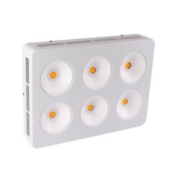 square plant grow light UK - CXA3070 Full Spectrum 6*200W COB 1200W LED Plant Grow Light Indoor Greenhouse Hydroponic Plant Growth Lighting Lamp
