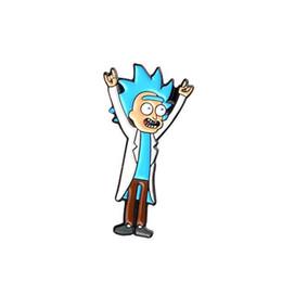 $enCountryForm.capitalKeyWord Australia - 2019 Rick and Morty Classic Cartoon icons Style Enamel pin Badge Buttons Brooch Anime Lovers Shirt Denim Jacket lapel pin