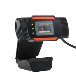 Wholesale HD Webcam Web Camera 30fps 640X480 PC Camera Built-in Sound-absorbing Microphone USB 2.0 Video Record For Computer For PC Laptop A870