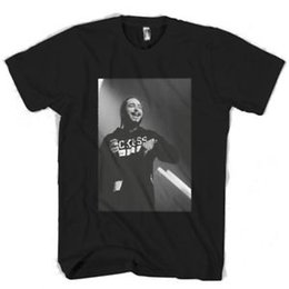 $enCountryForm.capitalKeyWord NZ - Post Malone Monochrome Man   Woman T-Shirt