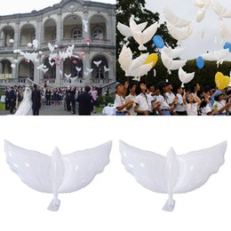 $enCountryForm.capitalKeyWord Australia - Fashion 1 pcs Peace Pigeon Balloons Birthday Party White Supplies Ceremony Wedding Decoration Peace Dove Floating Air Ball