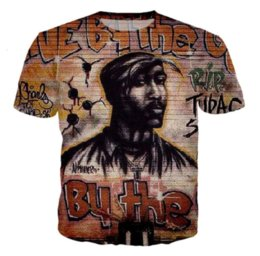 bf2c0f98 2pac Shirts UK - Hip Hop Popular Rapper Tupac 2pac Newest Hot Fashion T- Shirt