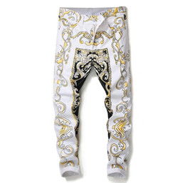 highest quality digital prints UK - New Men Designer Pants Fashion Digital Printed Hip Hop Pant Cotton High Quality Casual Outdoor Pants