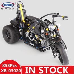 $enCountryForm.capitalKeyWord Australia - Xingbao 03020 Mechanical Series Motorcycle Compatible With LP Building Blocks Assembling Model Toys Heavy Motorcycle
