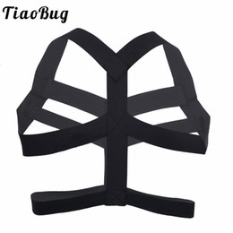 $enCountryForm.capitalKeyWord Australia - TiaoBug Hot Elastic Wide Straps Bondage Belt Men Exotic Body Chest Harness Male Sexy BDSM Bondage Tanks Underwear Men Lingerie
