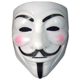 $enCountryForm.capitalKeyWord UK - Anonymous Guy Fawkes Fancy Dress Macka Mascaras Halloween Adult Costume Accessory The V for Vendetta Party Cosplay masque Mask