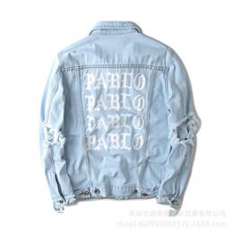 $enCountryForm.capitalKeyWord NZ - Dear2019 Kanye Student Hip-hop Hip Hop Than Bo Pablo The Scarlet Letter Holes Nostalgia Cowboy Jacket