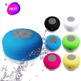 $enCountryForm.capitalKeyWord Australia - Bluetooth Speaker Hand Free Super Bass Waterproof Suckers Mini Speakers Portable Audio Players For SAMSUNG iPhone HTC DHL Free