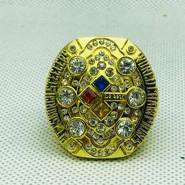 $enCountryForm.capitalKeyWord NZ - 008 Pittsburgh r Steelers Championship Ring size 11 gold