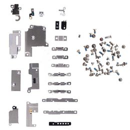 Internal parts online shopping - Full Set Small Metal Internal Bracket Replacement Parts Shield Plate Kit full set screws for Iphone Plus