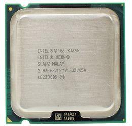 Intel 775 Processors Australia - Intel Xeon X3360 SLAWZ SLB8X Processor 2.83GHz 12M Cache Quad Core LGA 775 TDP 95W Server CPU